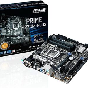 ASUS PRIME H270M-PLUS DDR4 X4 SOCKET 1151