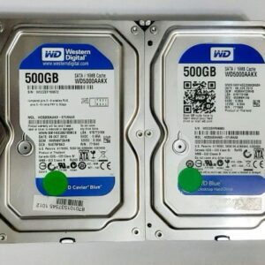 500 GB – WD BLUE 7200K Desktop 3.5